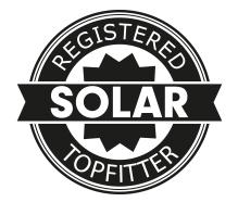 Solar-Topfitter